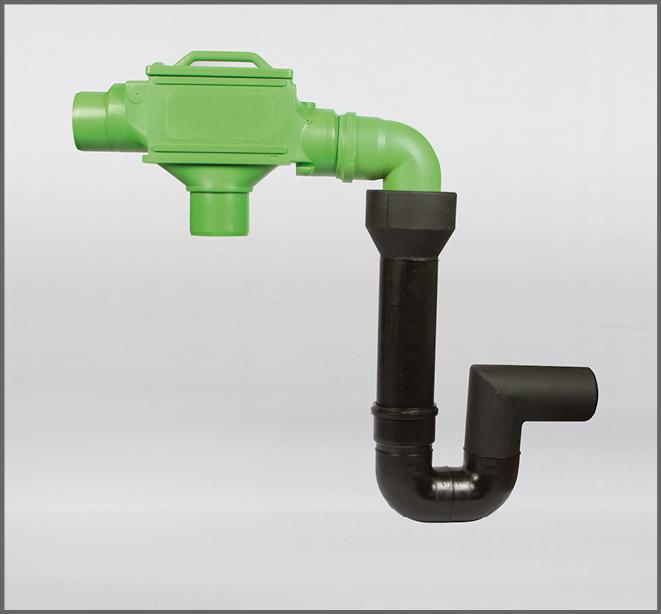 Regenwasserfilter Evo Integral Combi INOX DN 100 - Regenwasser nutzen
